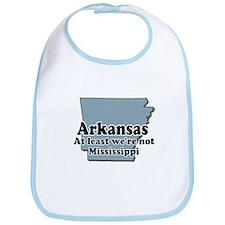 Arkansas Not Mississippi Bib
