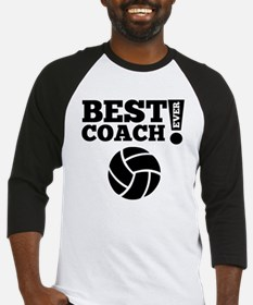 Best Volleyball Coach Ever Baseball Jersey