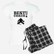 Best Hockey Coach Ever Pajamas