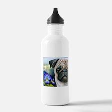 Dog 133 Pug Water Bottle