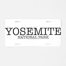Yosemite National Park California YNP Aluminum Lic
