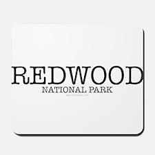 Redwood National Park California RNP Mousepad