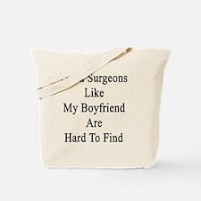 Funny Orthopedic surgeon Tote Bag