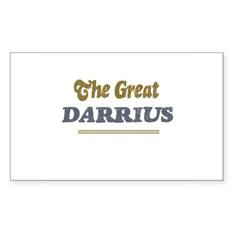 Darrius Rectangle Sticker