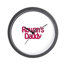 Rowan's Daddy Wall Clock