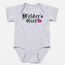 Cute Welding Baby Bodysuit
