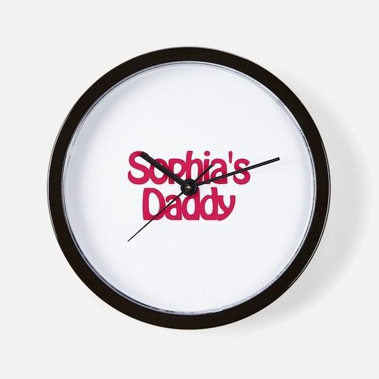 Sophia's Daddy Wall Clock