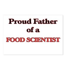 Proud Father of a Food Sc Postcards (Package of 8)