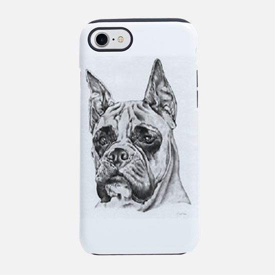 Boxer Dog Drawing Iphone 8/7 Tough Case