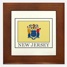 New Jersey Framed Tile