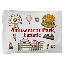 Amusement Park Fanatic Pillow Sham