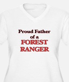 Proud Father of a Forest Ranger Plus Size T-Shirt
