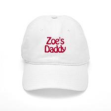 Zoe's Daddy Baseball Baseball Cap