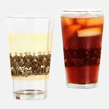 Unique Civil war soldier Drinking Glass