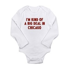 Cute Kind big deal Long Sleeve Infant Bodysuit