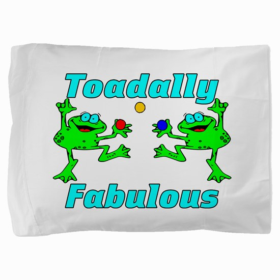 Toadally Fabulous Pillow Sham