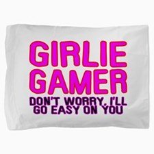 Girlie Gamer Pillow Sham