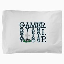 Gamer RIP Pillow Sham