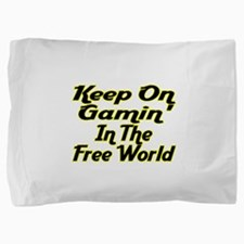 Free World Gaming Pillow Sham