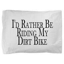 Cute Dirtbikes Pillow Sham