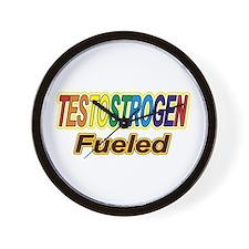 Testostrogen Fueled Wall Clock