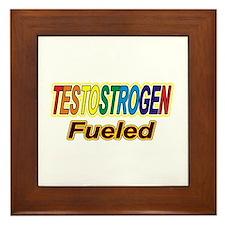 Testostrogen Fueled Framed Tile