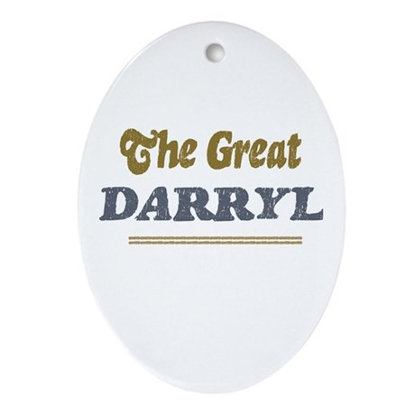 Darryl Oval Ornament
