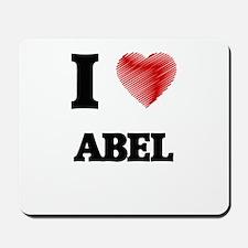 I love Abel Mousepad