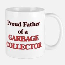 Proud Father of a Garbage Collector Mugs