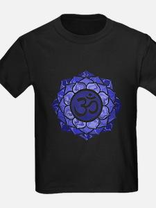 Lotus-OM-BLUE T-Shirt