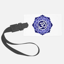 Lotus-OM-BLUE Luggage Tag