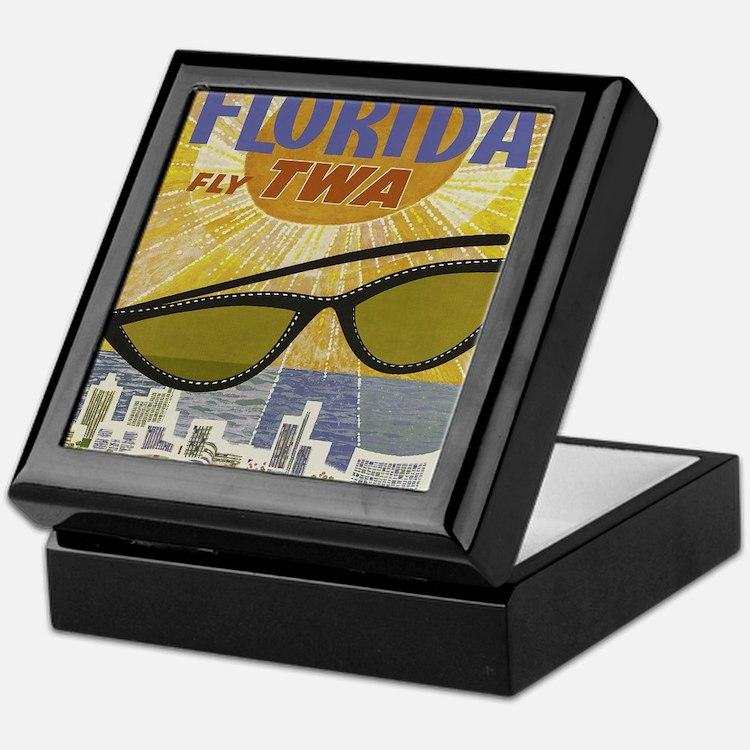 Cute Florida vintage Keepsake Box