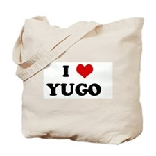 I Love YUGO   Tote Bag