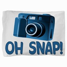 Oh Snap Camera Pillow Sham