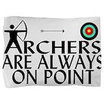 Archers On Point Pillow Sham