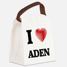 I love Aden Canvas Lunch Bag
