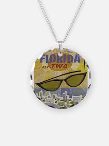 Vintage poster - Florida Necklace