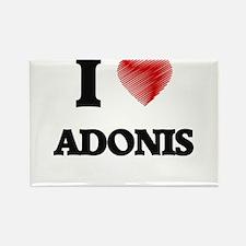 I love Adonis Magnets