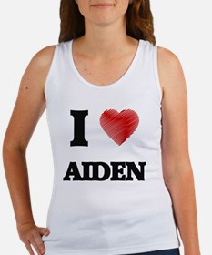 I love Aiden Tank Top