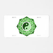 L-YY-Grn Aluminum License Plate