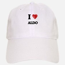 I love Aldo Baseball Baseball Cap