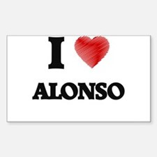 I love Alonso Decal
