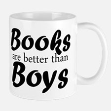 Books Are Better Than Boys Mugs