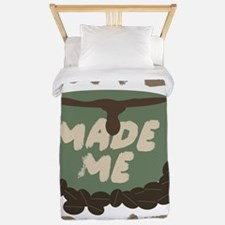 Coffee made me Do it Twin Duvet
