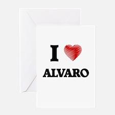 I love Alvaro Greeting Cards