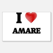 I love Amare Decal