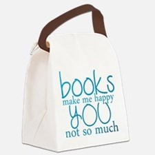 Cool Book lover Canvas Lunch Bag