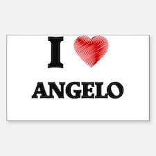 I love Angelo Decal