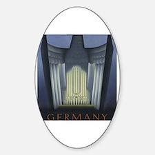Funny Pipe organ Sticker (Oval)