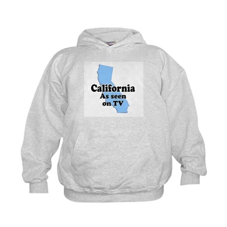 California As Seen On TV Kids Hoodie